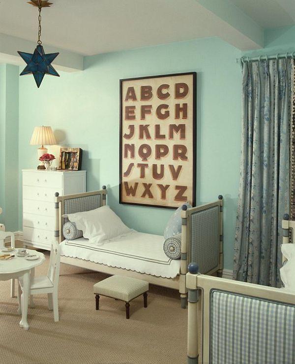 Расстановка мебели по фен шуй в детской