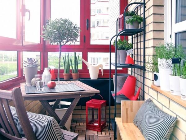 уютный балкон фото