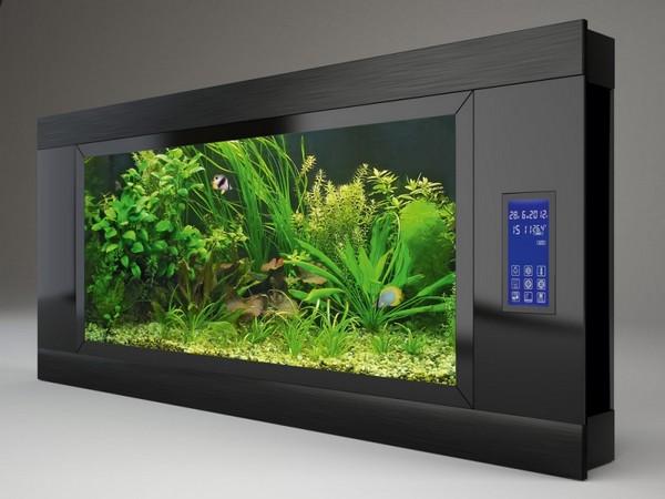 Плоский аквариум-картина настенный