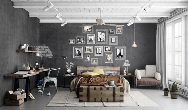 Потолочные светильники в стиле индастриал фото