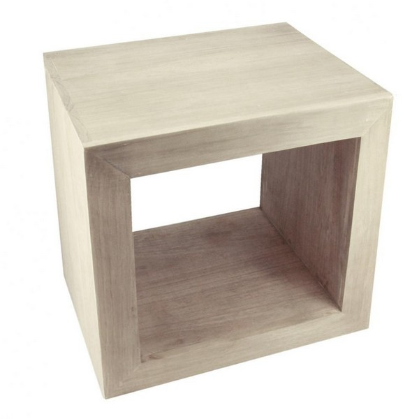 Столик приставной в виде куба