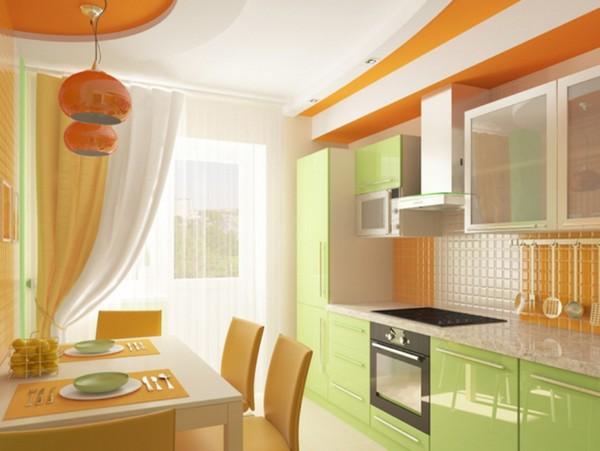 Занавески на кухню с балконной дверью фото