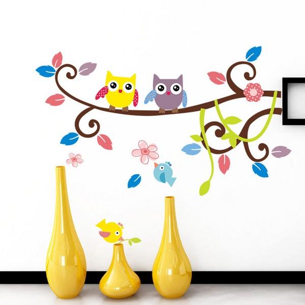 Декоративные наклейки для новогоднего оформления стен