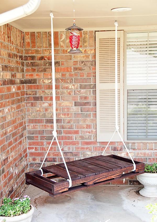 Мебель из поддонов для дачи фото