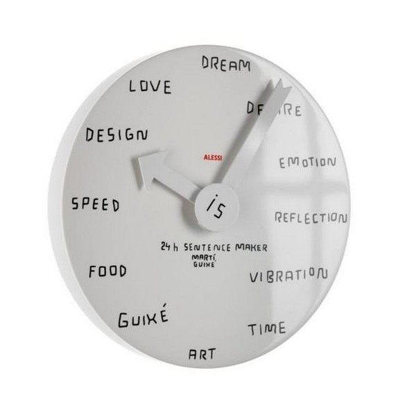 Прикольные настенные часы с надписями