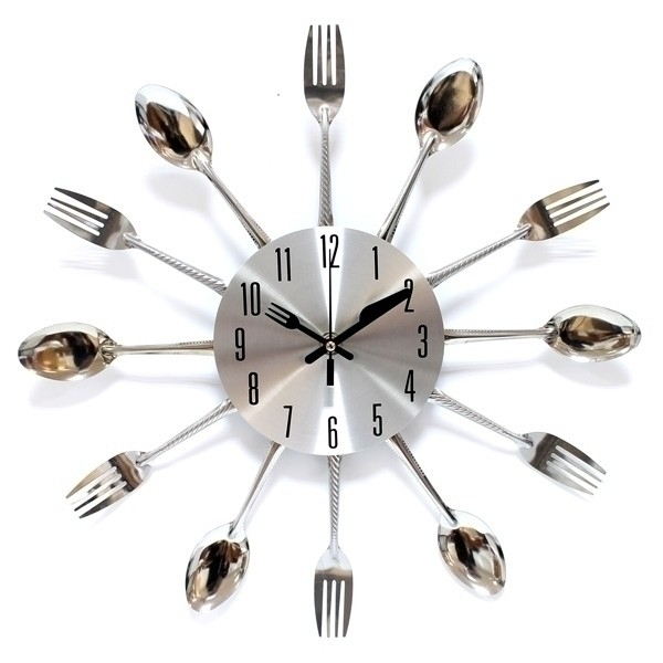 прикольные настенные часы для кухни