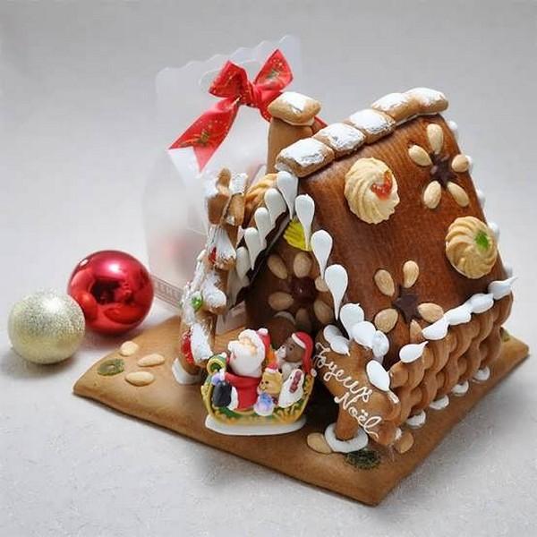 Пряничный домик из печенья