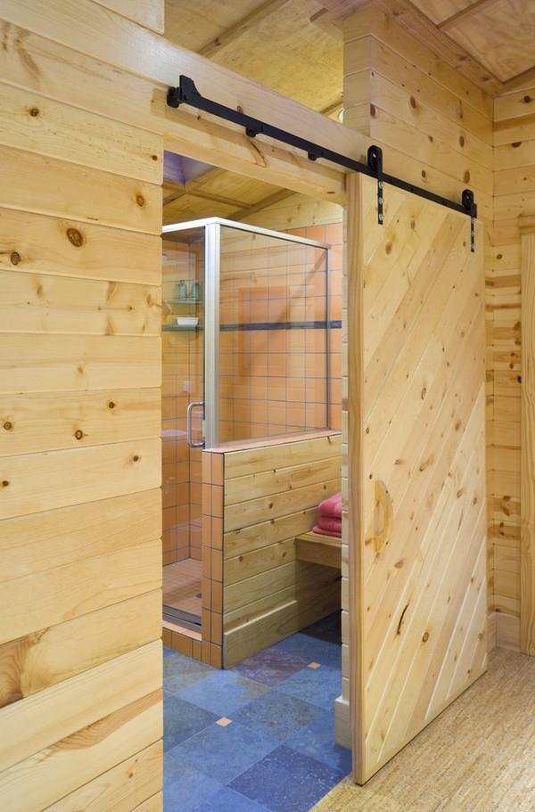 Самый красивый интерьер бани внутри фото