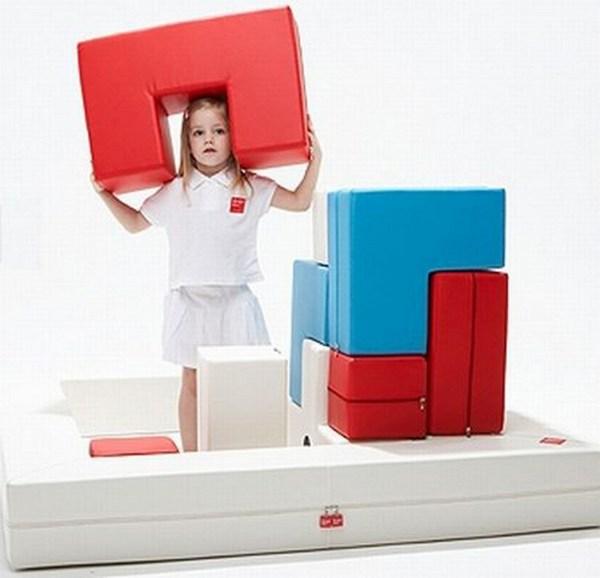 Модульный детский диванчик