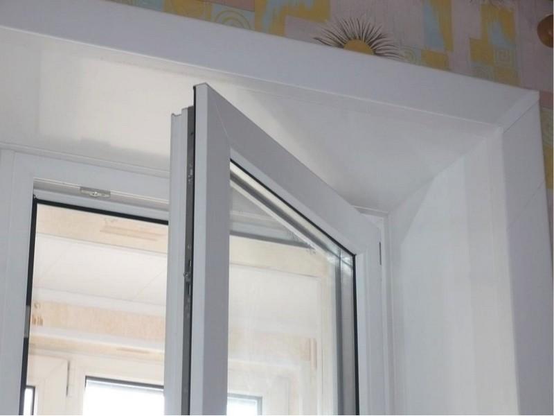 откосы на окна фото