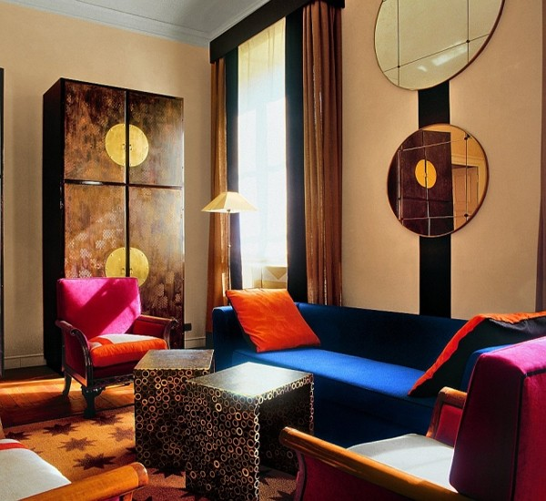 интерьер квартиры в стиле авангард