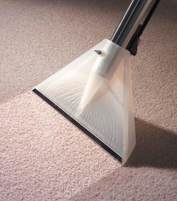 Влажная чистка ковролина в домашних условиях