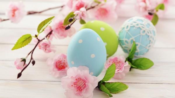 декор деревянных яиц