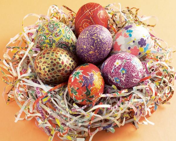 как украсить деревянное яйцо своими руками
