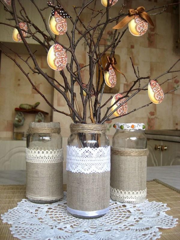 пасхальные деревья своими руками фото
