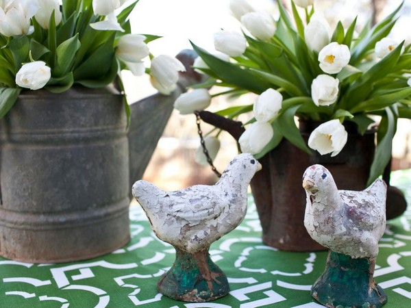 Оригинальный пасхальный весенний декор 2016