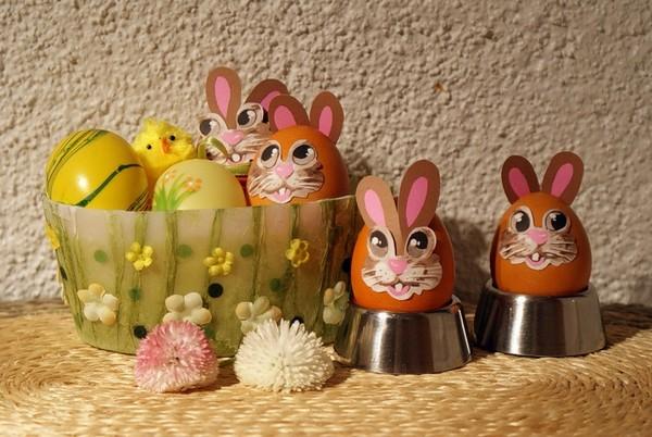 Декор пасхальных яиц 2016 фото