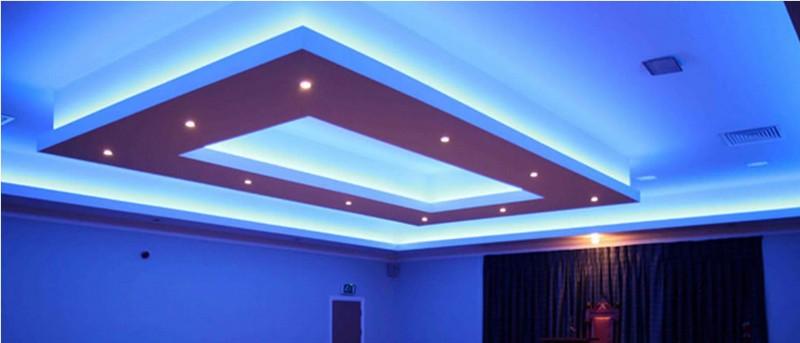 потолочные декоративные подсветки фото