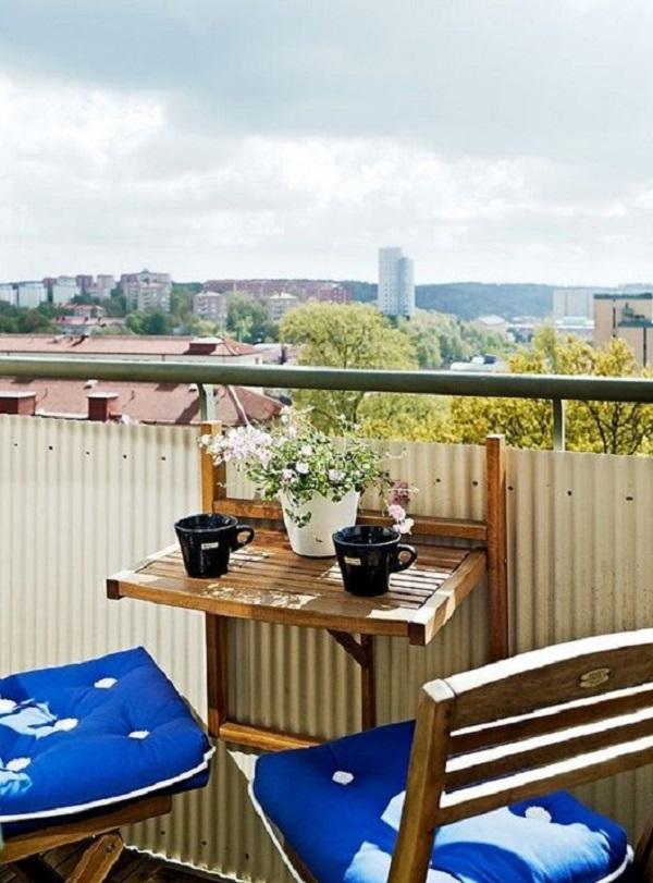 столик на балкон своими руками фото