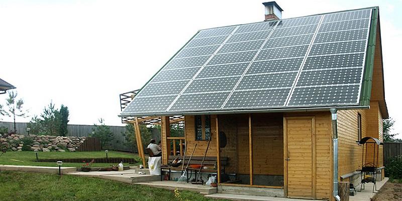 автономное электроснабжение частного дома фото