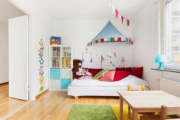 интерьер детской в скандинавском стиле