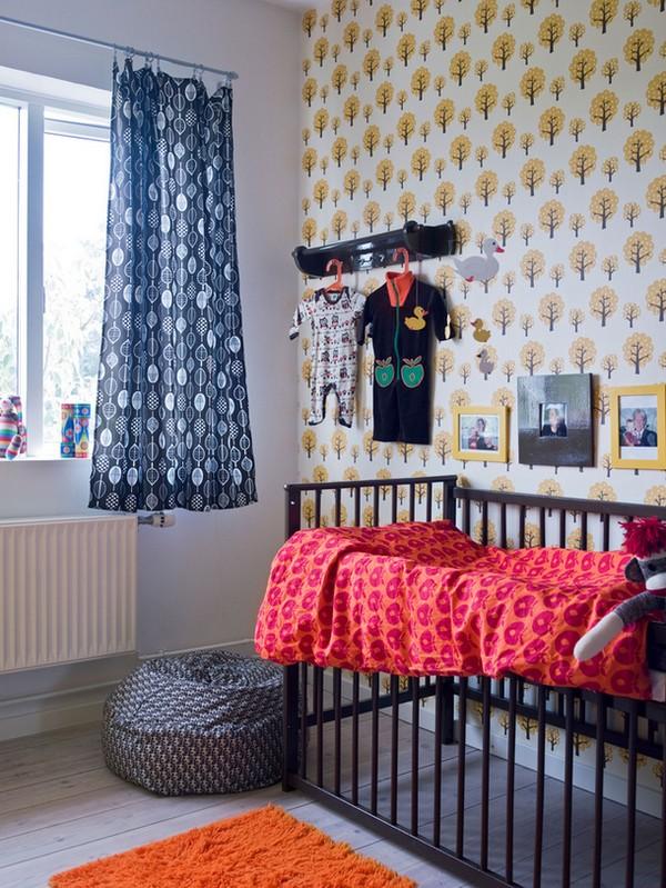 Детская новорожденного в скандинавском стиле фото
