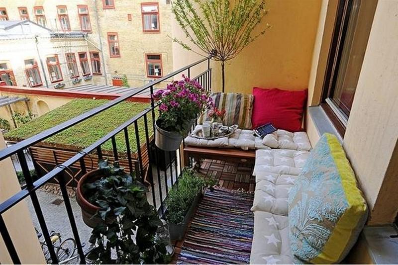 как сделать открытый балкон фото