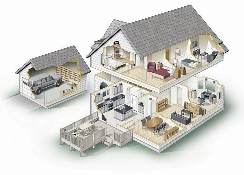виртуальная прогулка по умному дому
