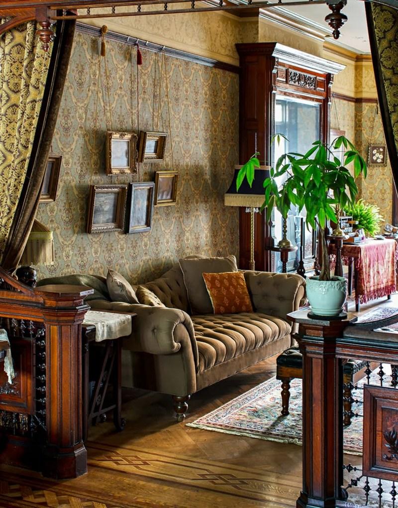 Декор в интерьере в викторианском стиле