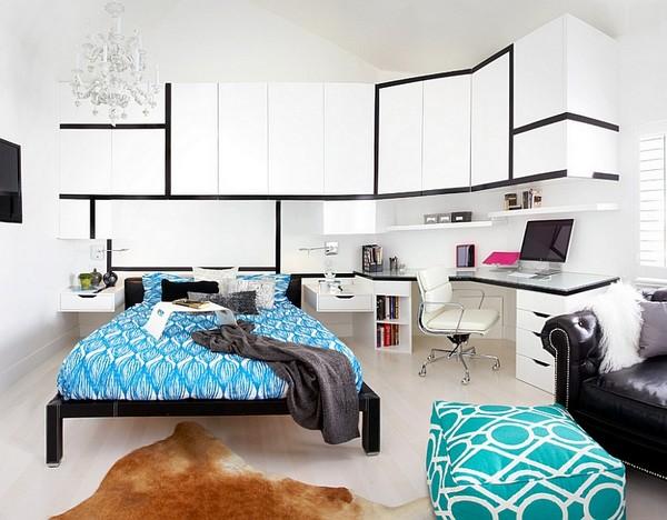 Мебель для спальни-кабинета