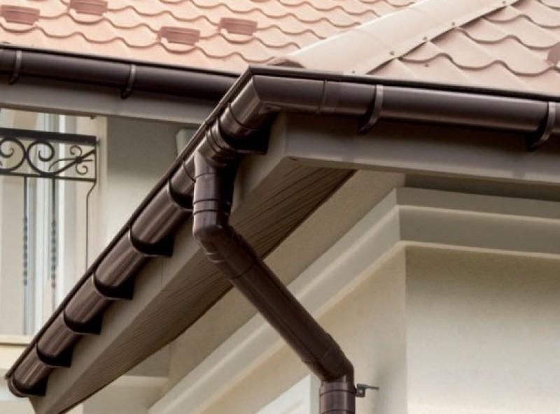 водоотливы для крыши пластиковые фото