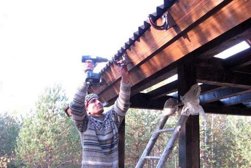 водоотливы для крыши своими руками фото