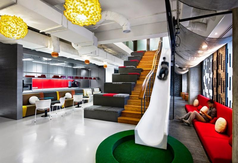 Креативные идеи дизайна интерьера современного офиса