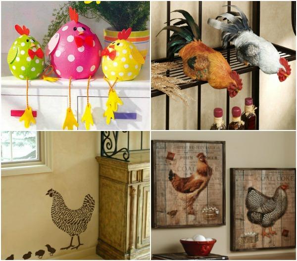 Как украсить дом к Новому году Петуха