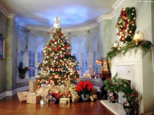 Украшение новогодней елки 2017 фото