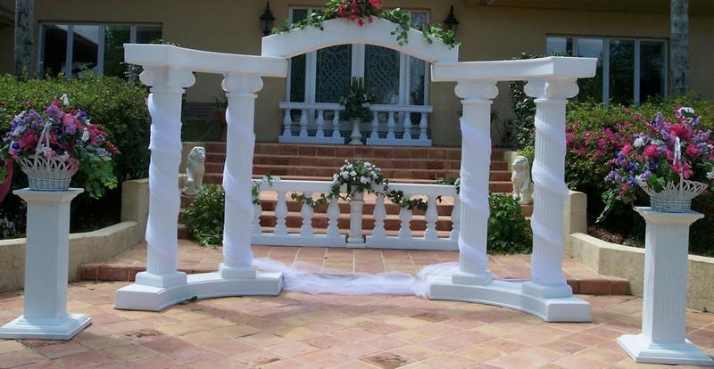 декоративные колонны фото