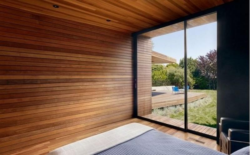 деревянная отделка интерьера