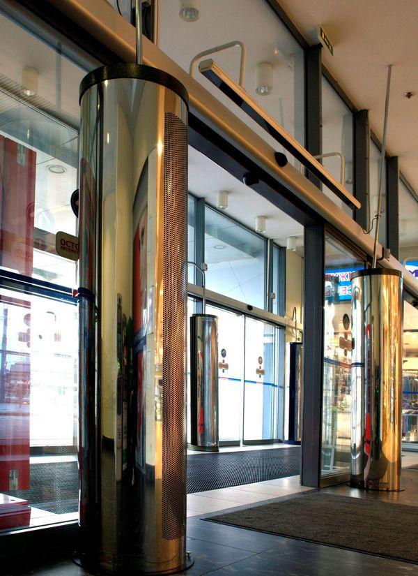 тепловая завеса на входную дверь вертикальная