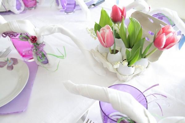 Как украсить пасхальный стол 2017 фото