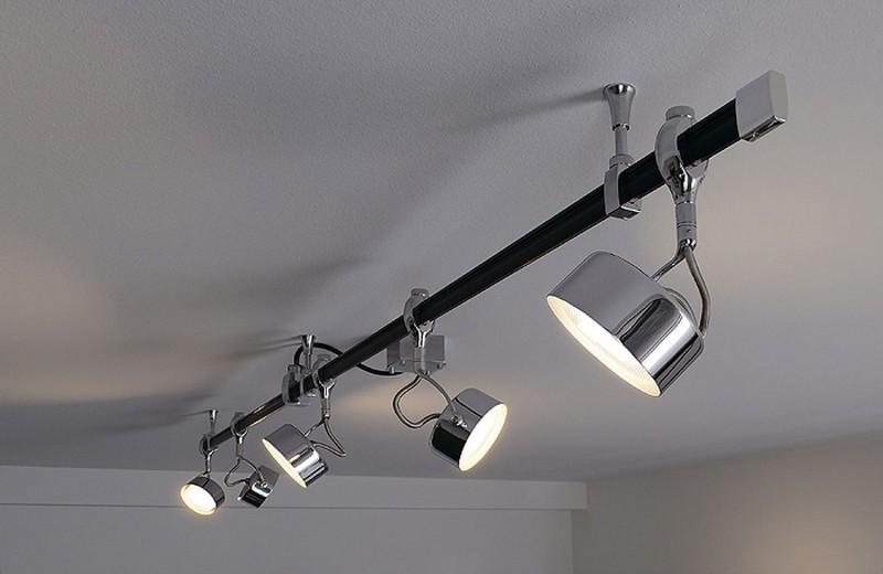 Трековые светильники на шинопроводе фото