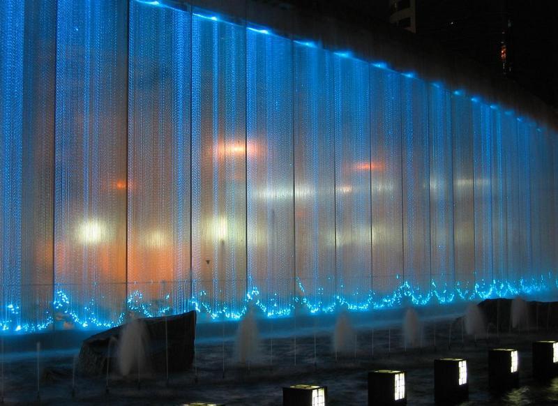 Подсветка с использованием оптоволоконных нитей