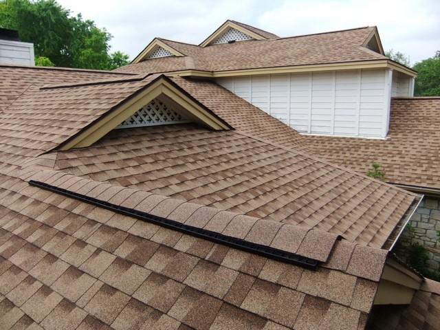 крыша из мягкой черепицы фото