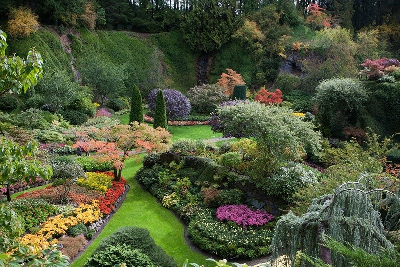 Английский пейзажный стиль в ландшафтном дизайне