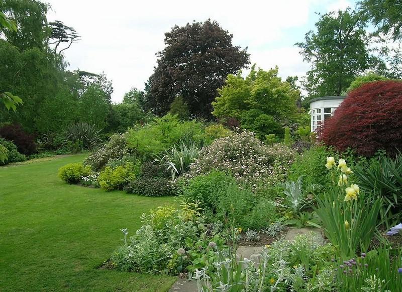 Цветники и газоны в пейзажном стиле фото