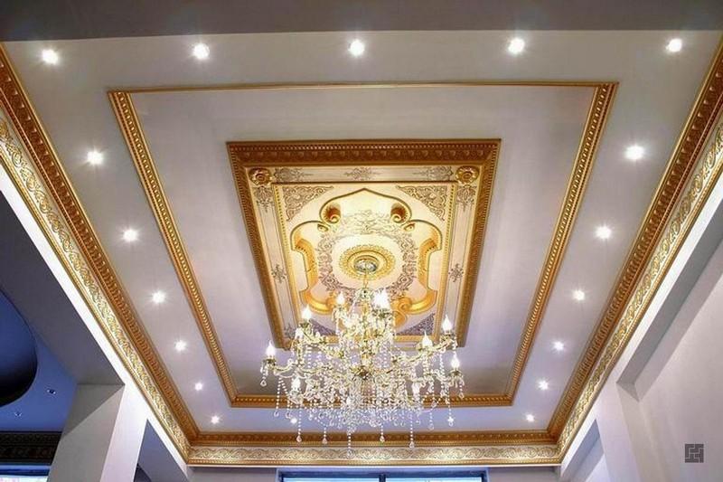 идеи декора потолка фото