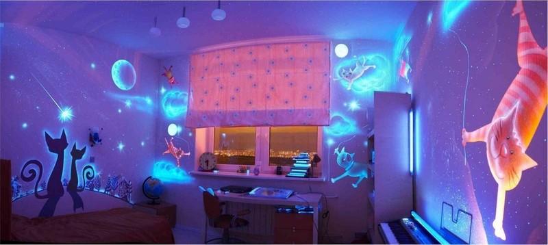 флуоресцентные обои фото