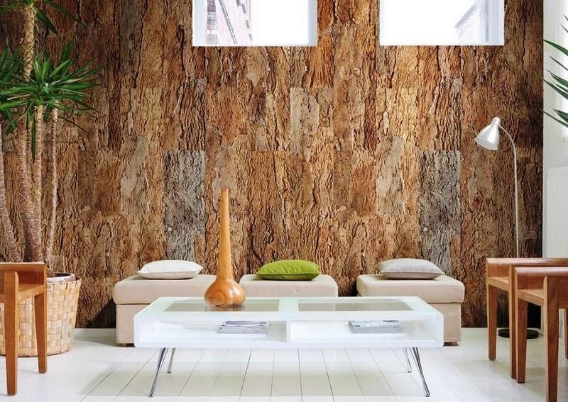 декоративное пробковое покрытие для стен фото