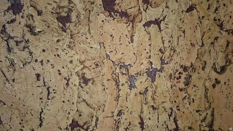 виды пробкового покрытия для стен