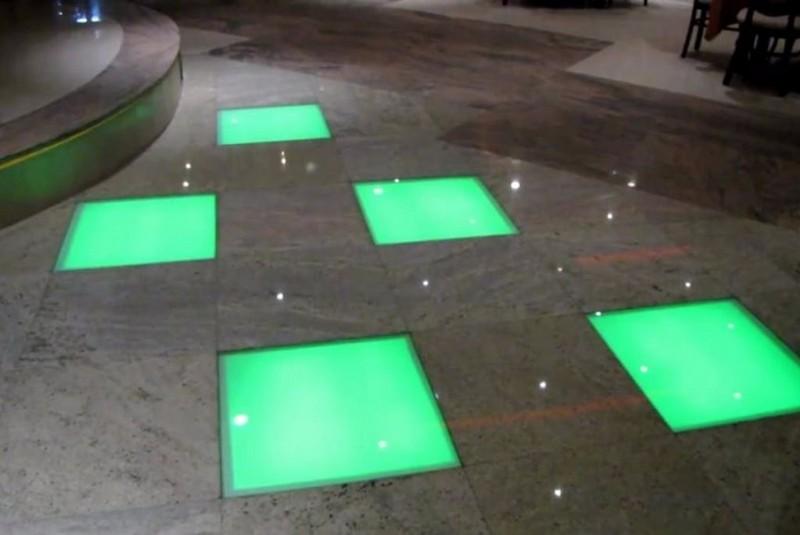 световые модули для пола фото