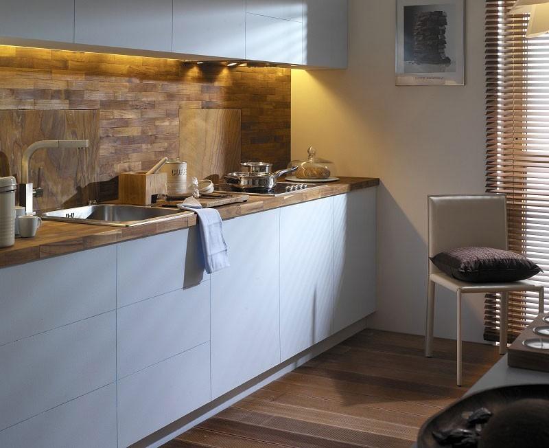 деревянная плитка для кухни фото